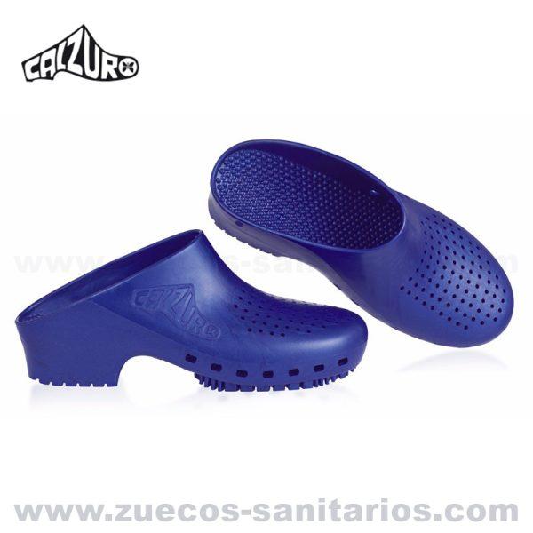 Zuecos Sanitarios Calzuro Azul Metalizado