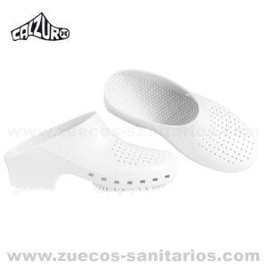 Zuecos Calzuro Blanco