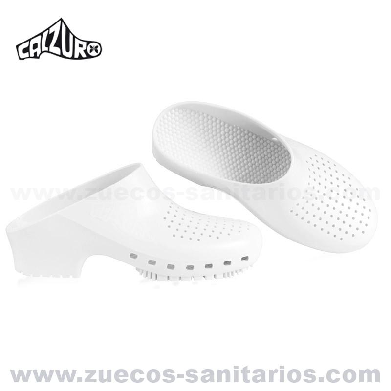 nuevo concepto e5838 a5e47 Zuecos Sanitarios Calzuro Blanco