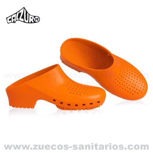 Zuecos Calzuro Naranja