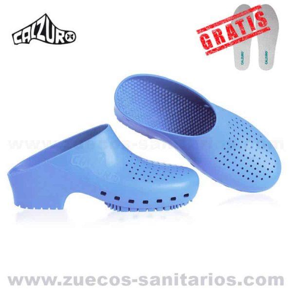 Calzuro Azul Celeste