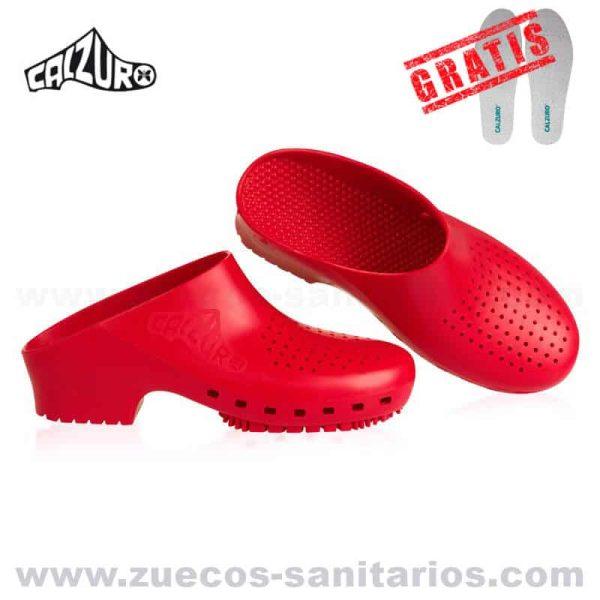 Calzuro Rojos
