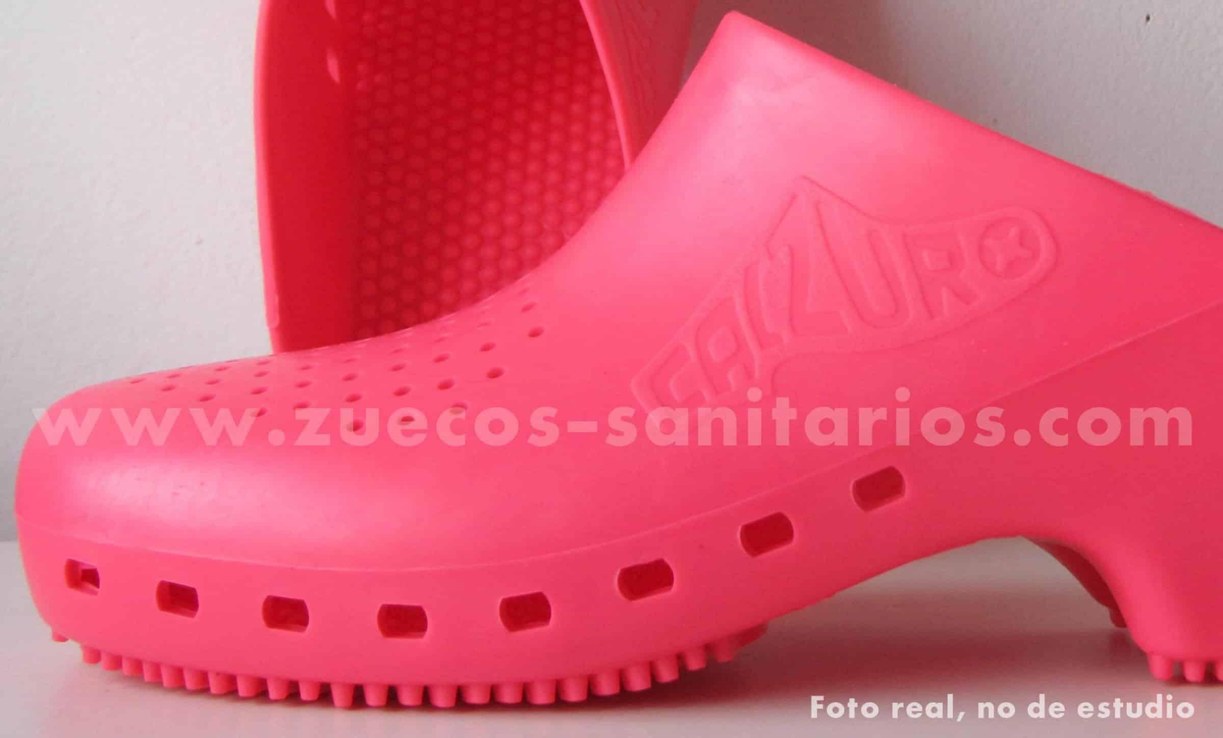 Zueco Sanitario Calzuro Rosa foto