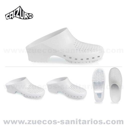 Zuecos Calzuro Blancos
