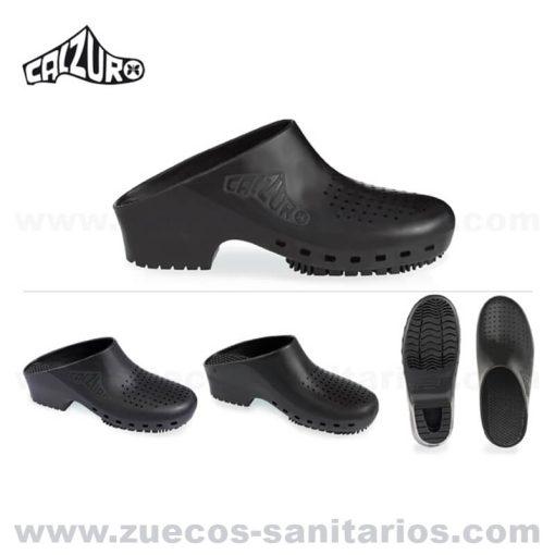 Zuecos Calzuro Negros