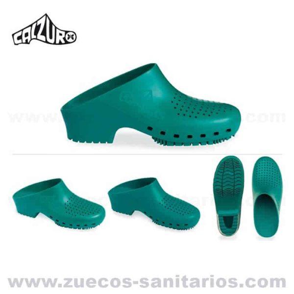 Zuecos Calzuro Verdes